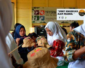 Hari Konservasi Alam Nasional (HKAN), YAYORIN Lakukan Edukasi Generasi Muda Seruyan Hulu, Kalimantan Tengah