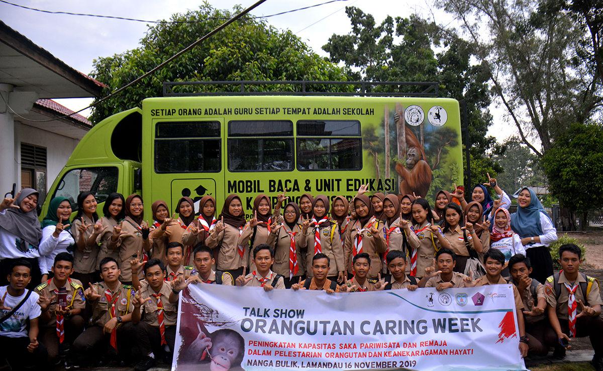 Orangutan Caring Week 2019 : Menjaga Hutan, Melestarikan Orangutan, Menjamin Masa Depan